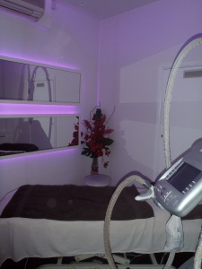 Zen lifestyle treatment room, cellulite treatment