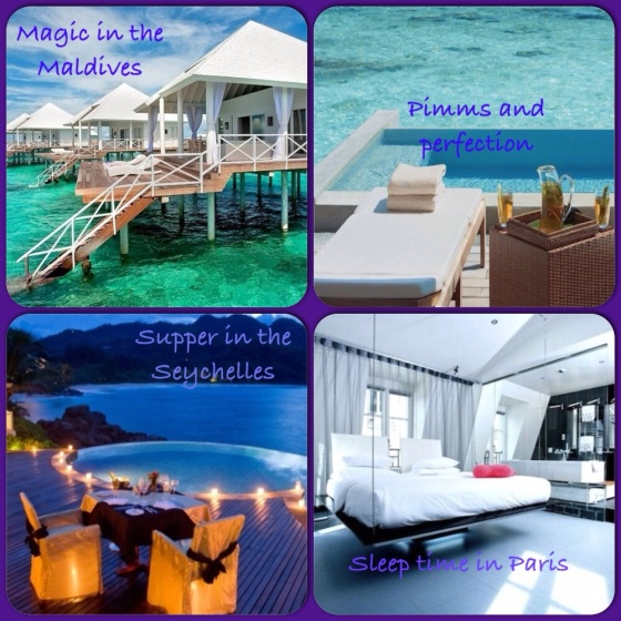 rich girl destinations